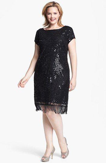 Plus Size Flapper Dresses 1920