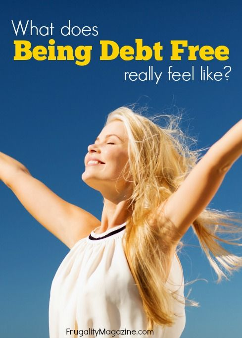 What does it feel like to be debt free? After years of struggling with debt I finally achieved my financial goal of becoming debt free - this is how it felt...