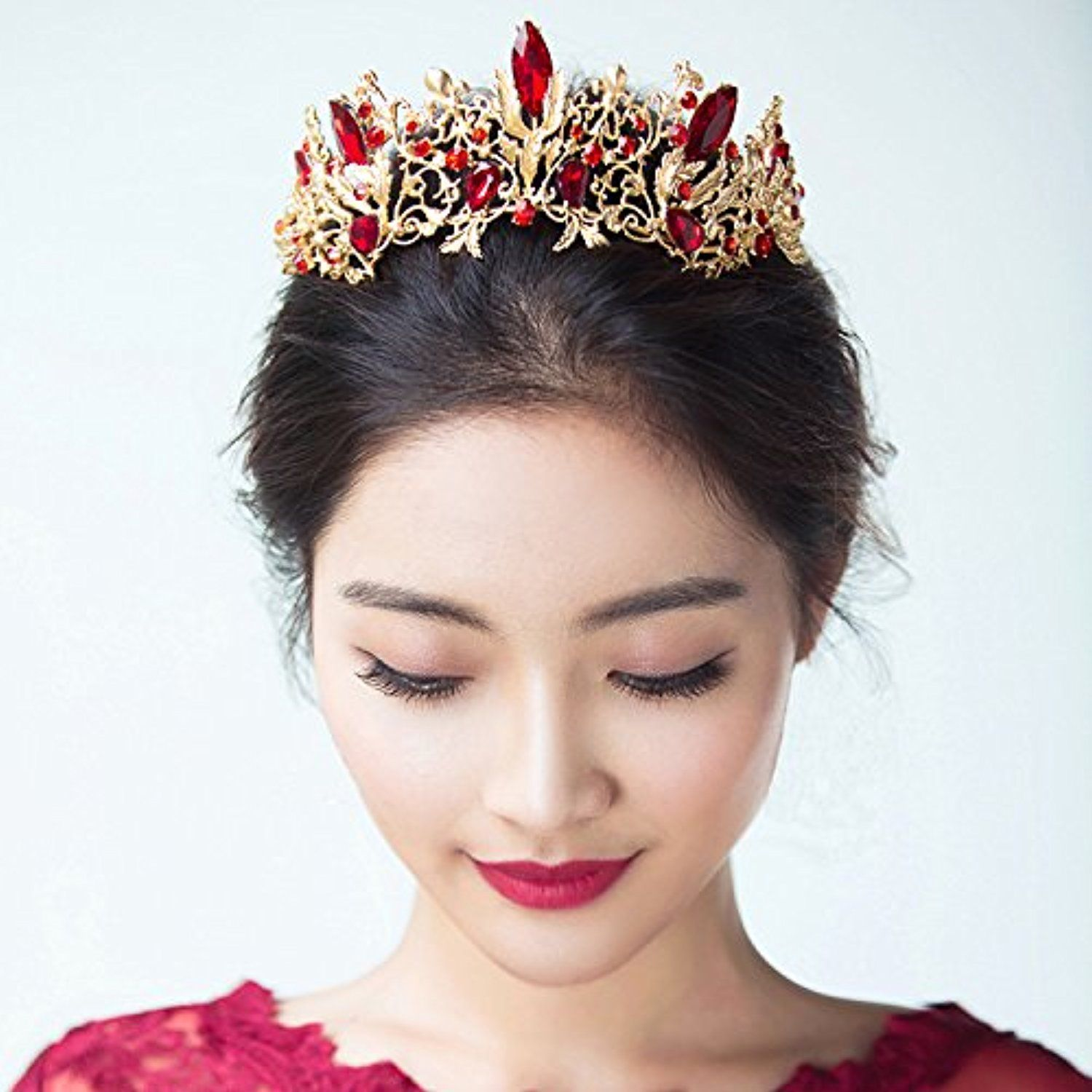 Quantity 1x Korean bride s_ Headdress _continental_antique
