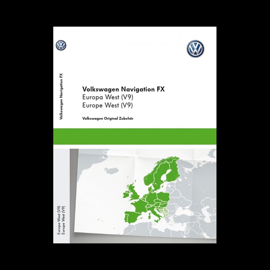 Vw Sd Karte.Volkswagen Rns 310 Westeuropa V9 Navigation Landkarte Sd Karte