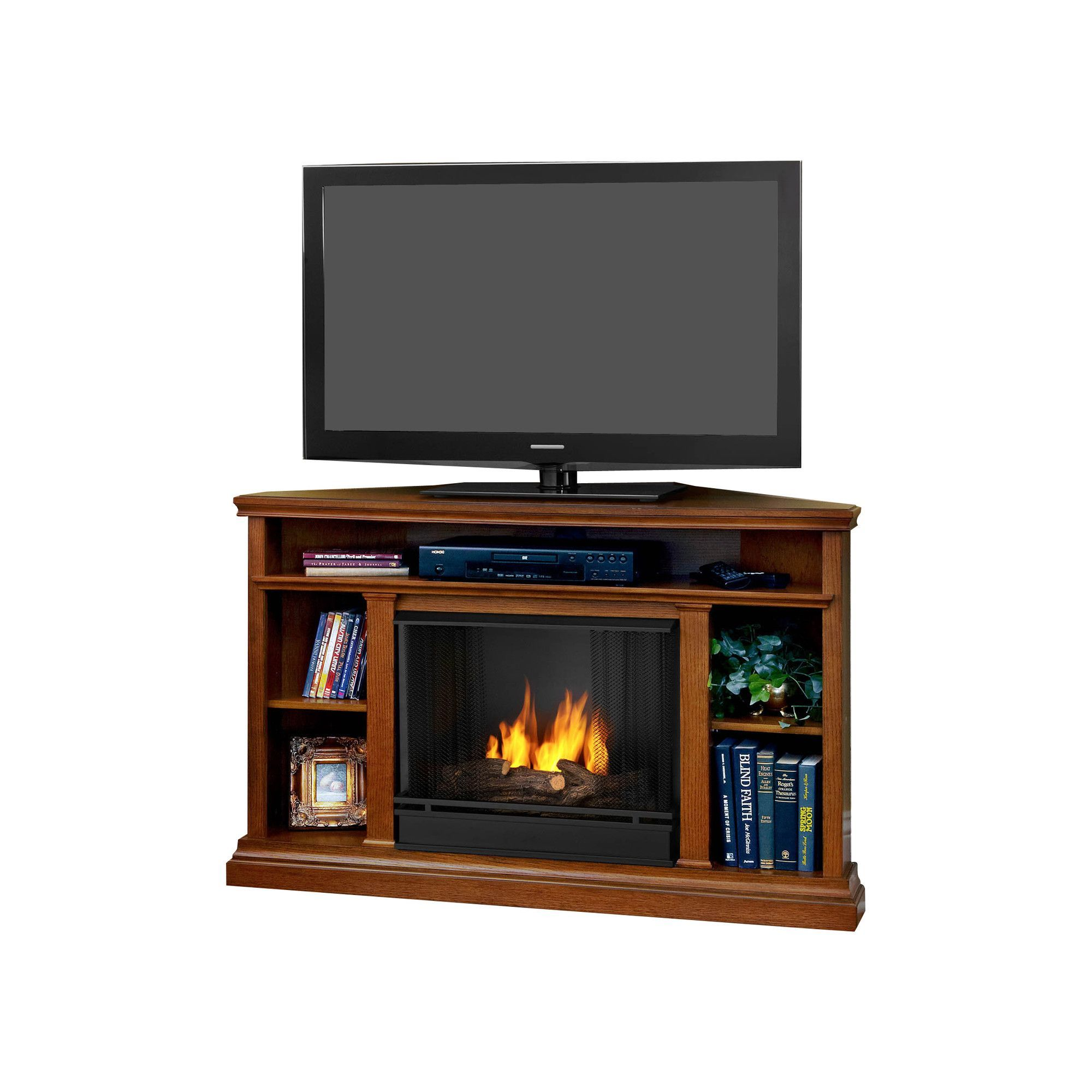 Churchill Tv Stand With Gel Fuel Fireplace Tv Stand Cool Tv Stands