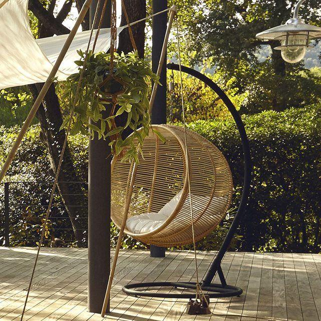 fauteuil suspendre bosseda dream garden coussin. Black Bedroom Furniture Sets. Home Design Ideas