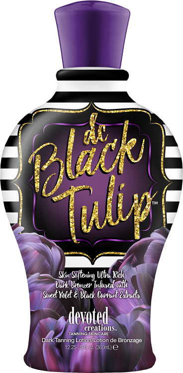 Devoted Creations Black Tulip Tanning Lotion Tanning