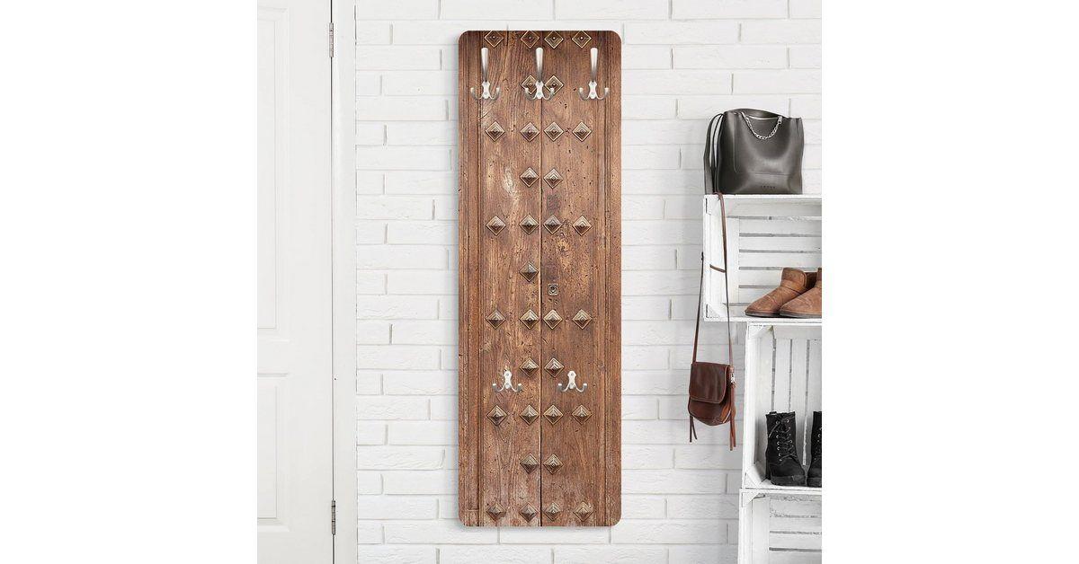 Bilderwelten Garderobe Rustikale Spanische Holztur Online Kaufen
