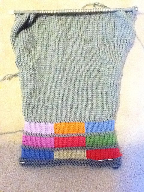 Ravelry: Project Gallery for Color Bars pattern by Rick Mondragon ...