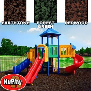 Nuplay Playground Mulch Made From 100 Recycled Rubber