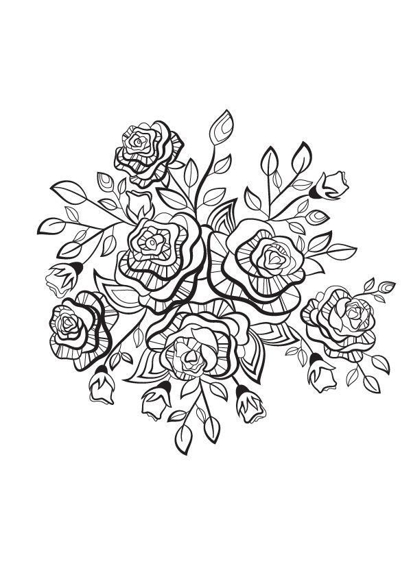 Printemps et coloriage mandala pinterest - Coloriage mandala printemps ...