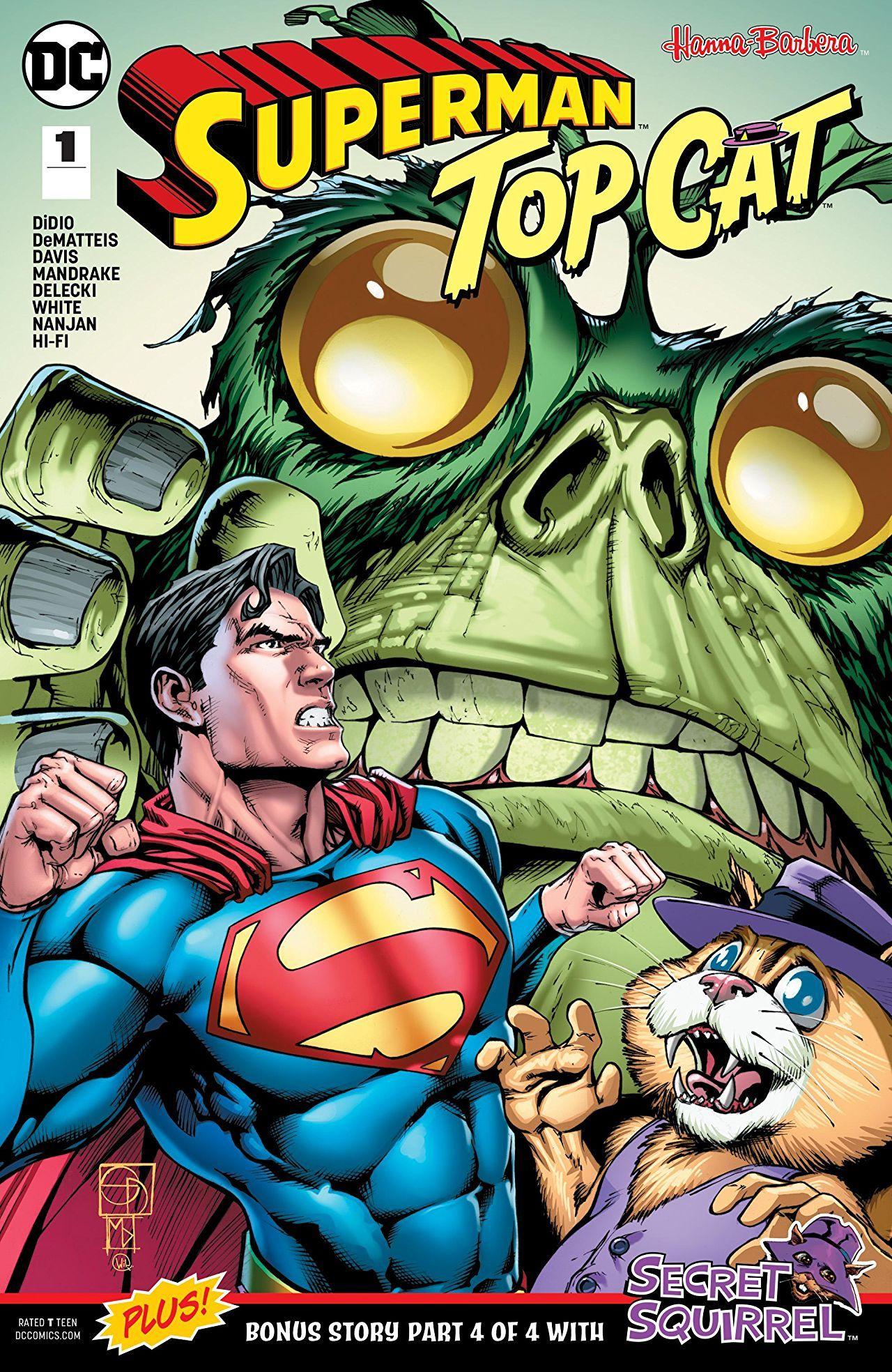 Superman Top Cat Special 2018 1 Comics By Comixology Superman Comics Cat Top