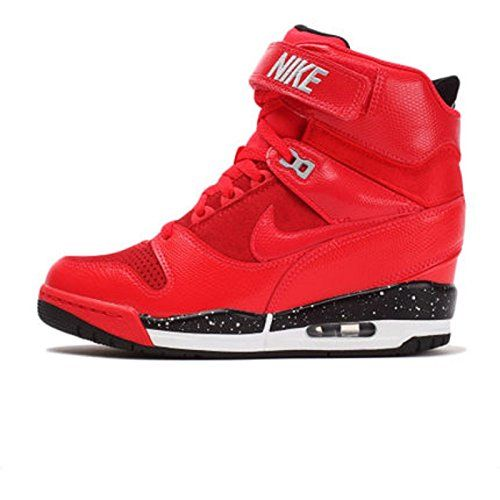 4043b32f09 Nike Women's Air Revolution Sky High - Action Red / Black-Wolf Grey-Action  Red, 6 B US Nike
