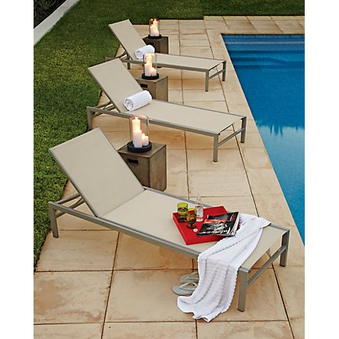 Hurricanes Poolside Decor Lounge Chair Outdoor Pool