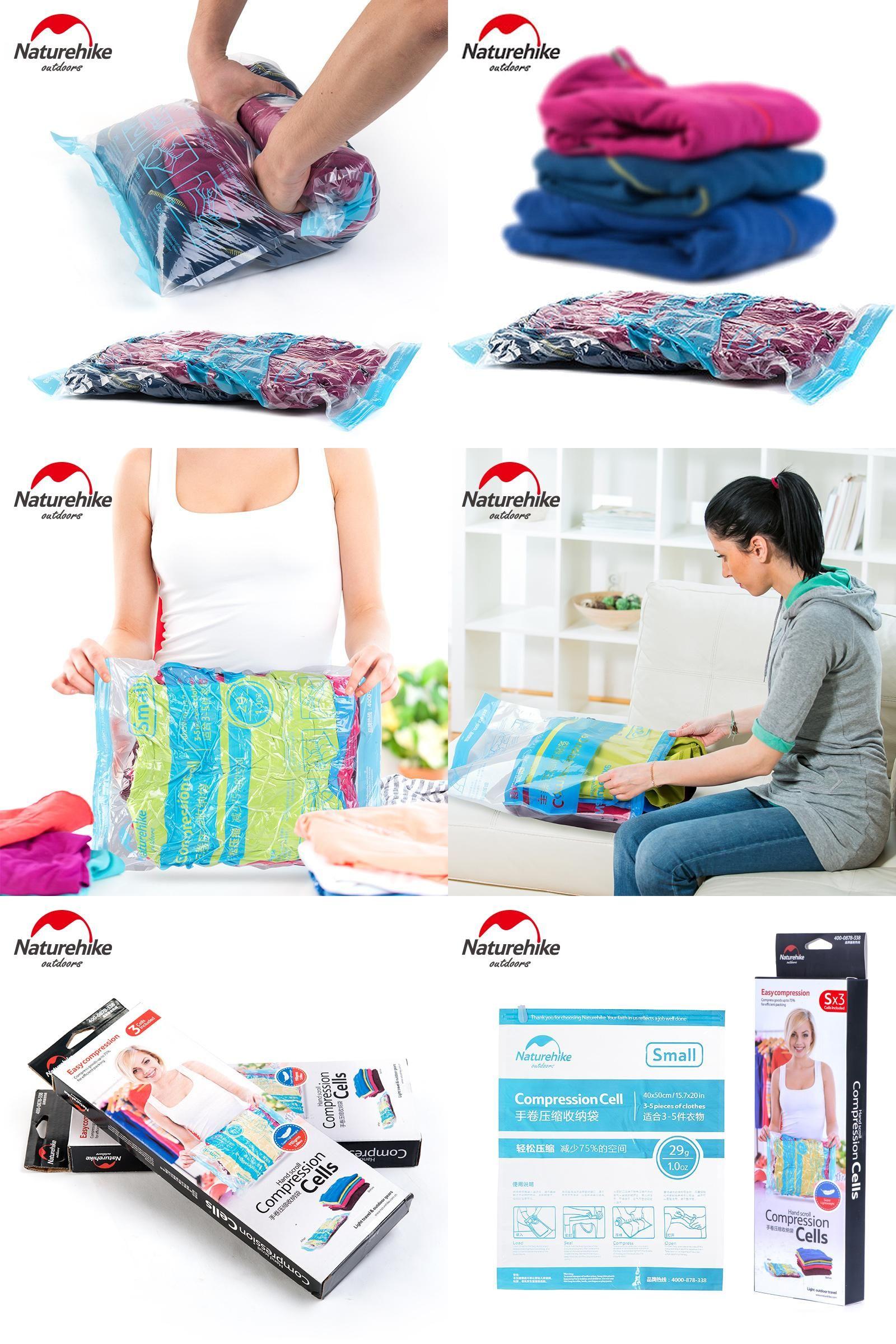 bcba05dd0464 Visit to Buy] NatureHike Vacuum Swim Clothes Storage Bags Hand ...
