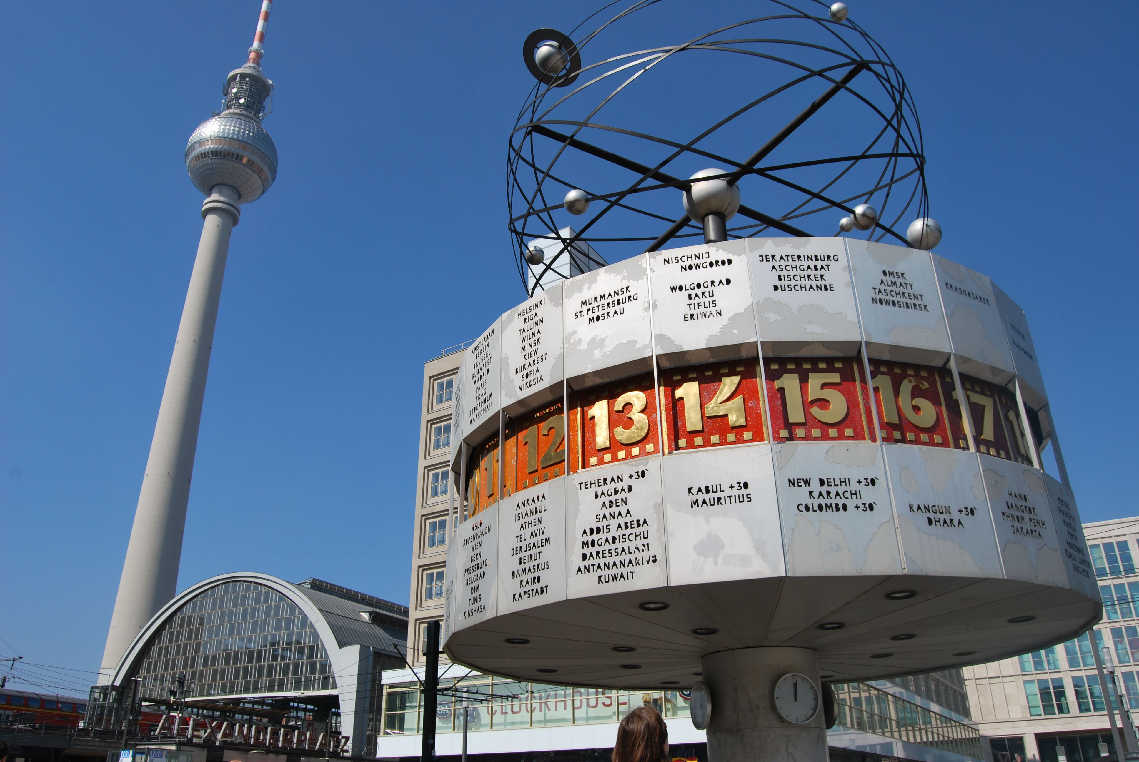 Alexanderplatz Berlin Germany Leaning Tower Of Pisa Life Moves Pretty Fast Berlin