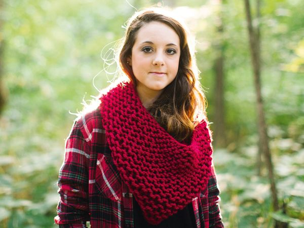Infinity scarf knitting pattern | final1 | Mollie Makes