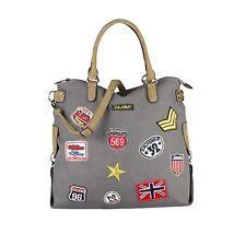 Photo of PATCHES TASCHE Shopper Umhängetasche Handtasche Canvas Schultertasche Crossover…