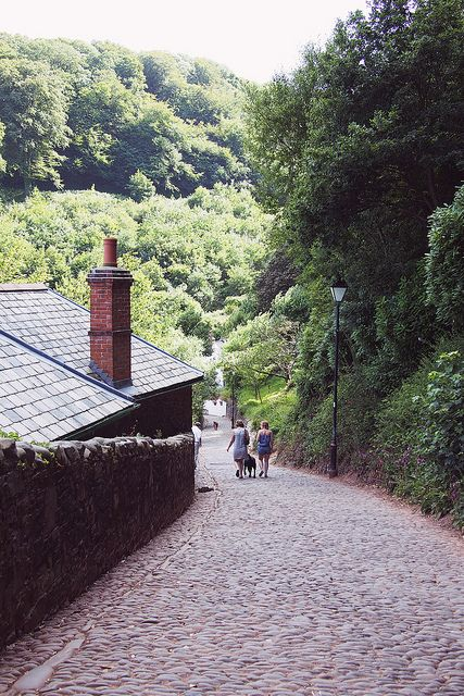 Clovelly, Devon by What Katie Does, via Flickr