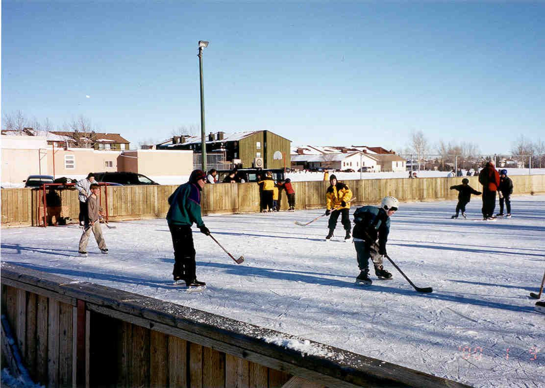 the city of regina maintains more than 60 outdoor ice rinks at 40