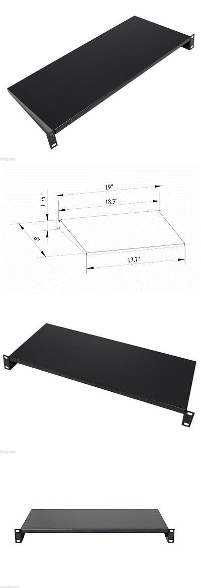 Rackmount Cabinets And Frames 51199 Cantilever Server Shelf Shelves Rack Mount 19 1u 6 150mm Deep Aluminum Wall Mount Rack Server Rack Open Frame