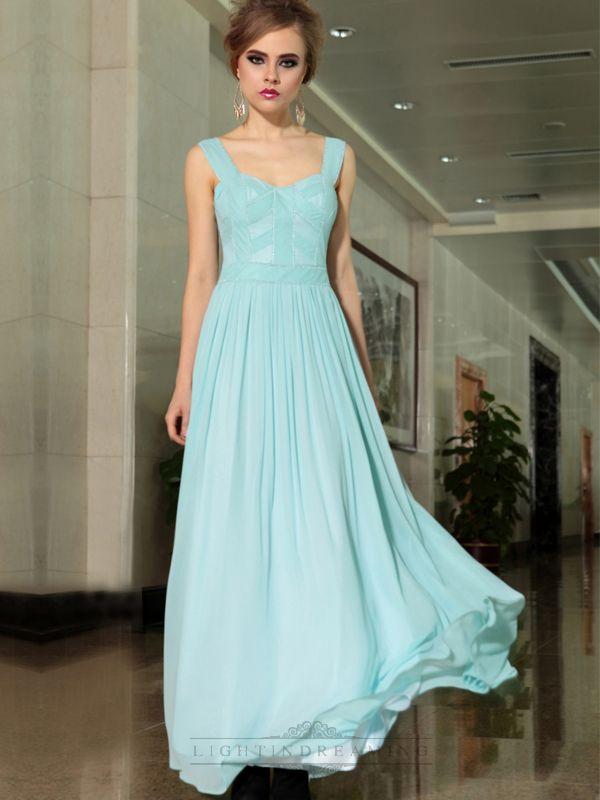 Light Blue Long Formal Dress