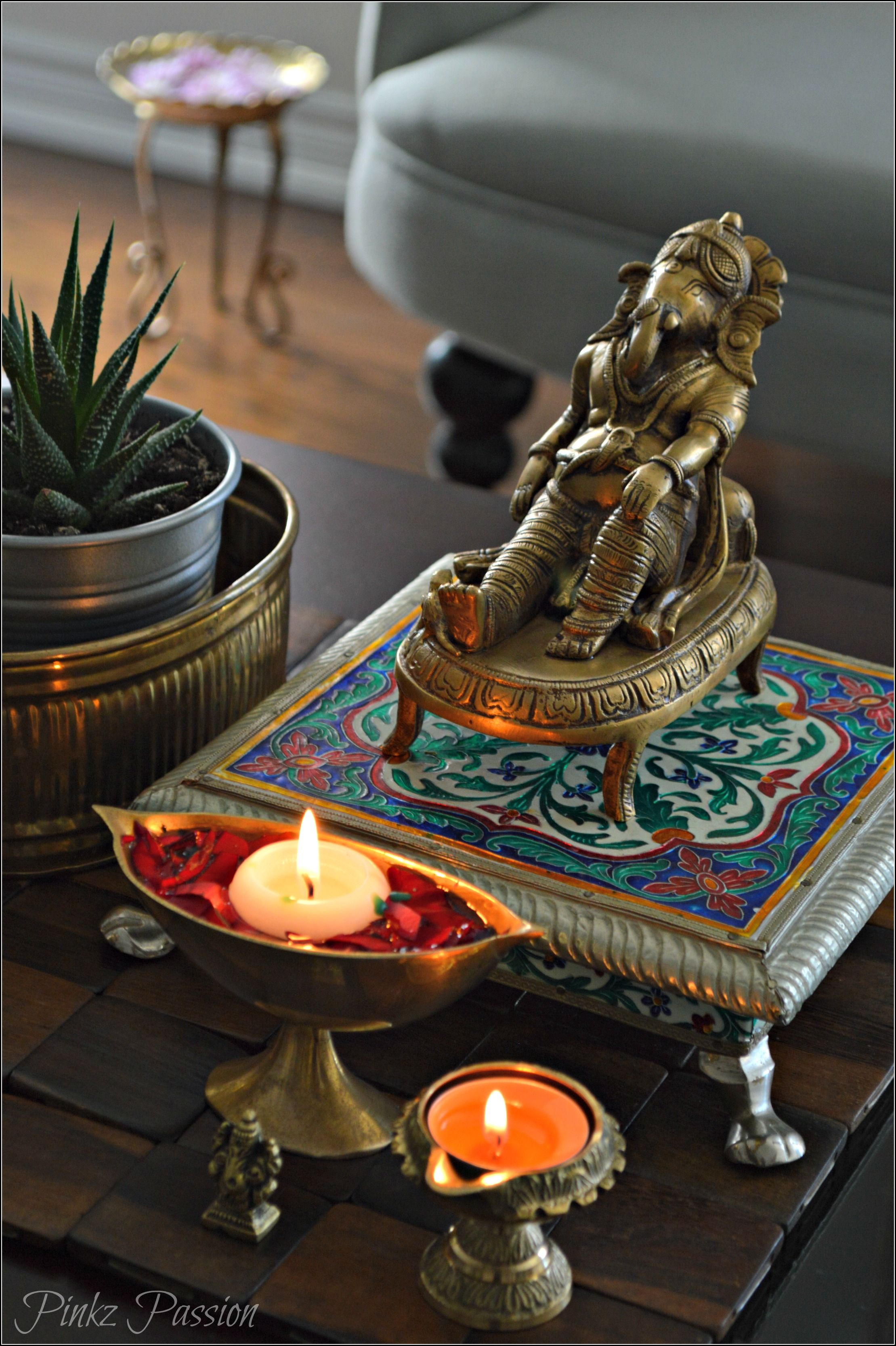 Indian Decor Brass Decor Indian Inspired Decor Ganesh