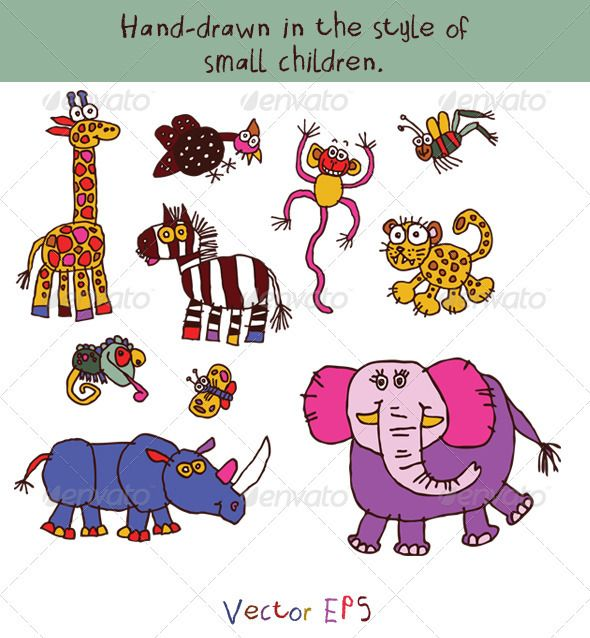 images drawing for kids animals page 3 - Small Drawings For Kids