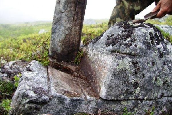 Hyperborea legacy in Kola peninsula, Russia.