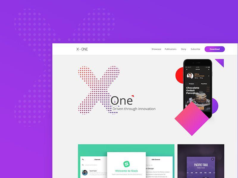 X One App Developers Website App Development Web Inspiration Website Design