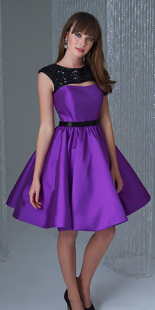 Elegant Short Semi Formal Dress Madison James16-365 | Runway Ready ...