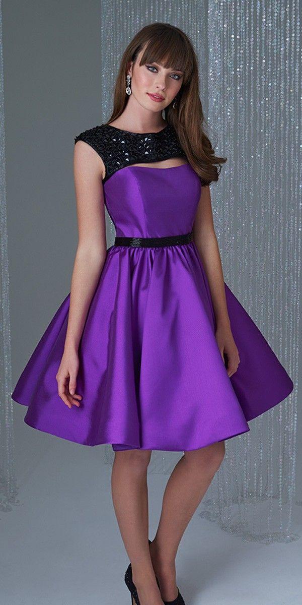 Elegant Short Semi Formal Dress Madison James16-365 | Prom ...
