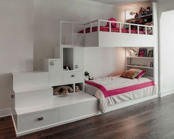 Hochbett Im Kinderzimmer   100 Coole Etagenbetten Für Kinder