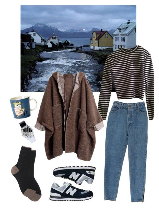 """""""homesick"""" by pallo ❤ liked on Polyvore featuring T By Alexander Wang, New Balance, Maria La Rosa, iittala and May28th"""