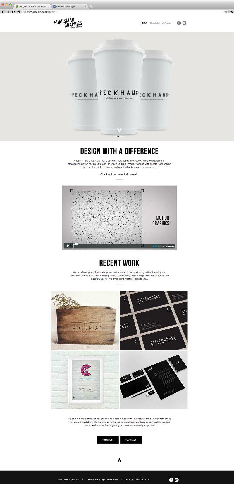 Hausman Graphics Graphic Design Web Design Glasgow Web Design Web Design Agency Create Website