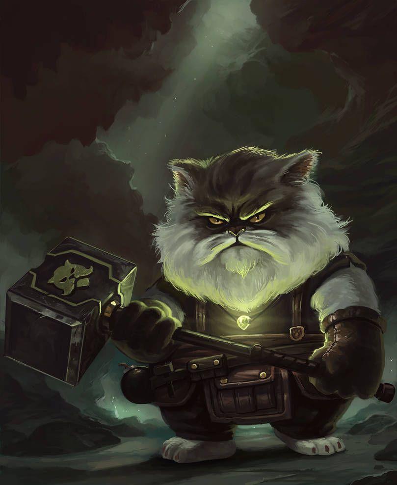 Hebb the master blacksmith by
