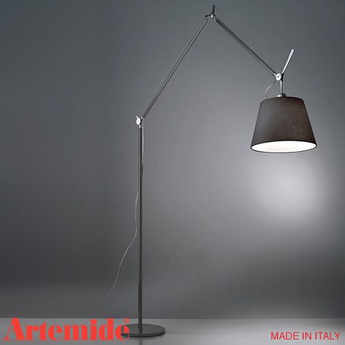 Artemide Tolomeo Mega Floor Lamp Black Available At