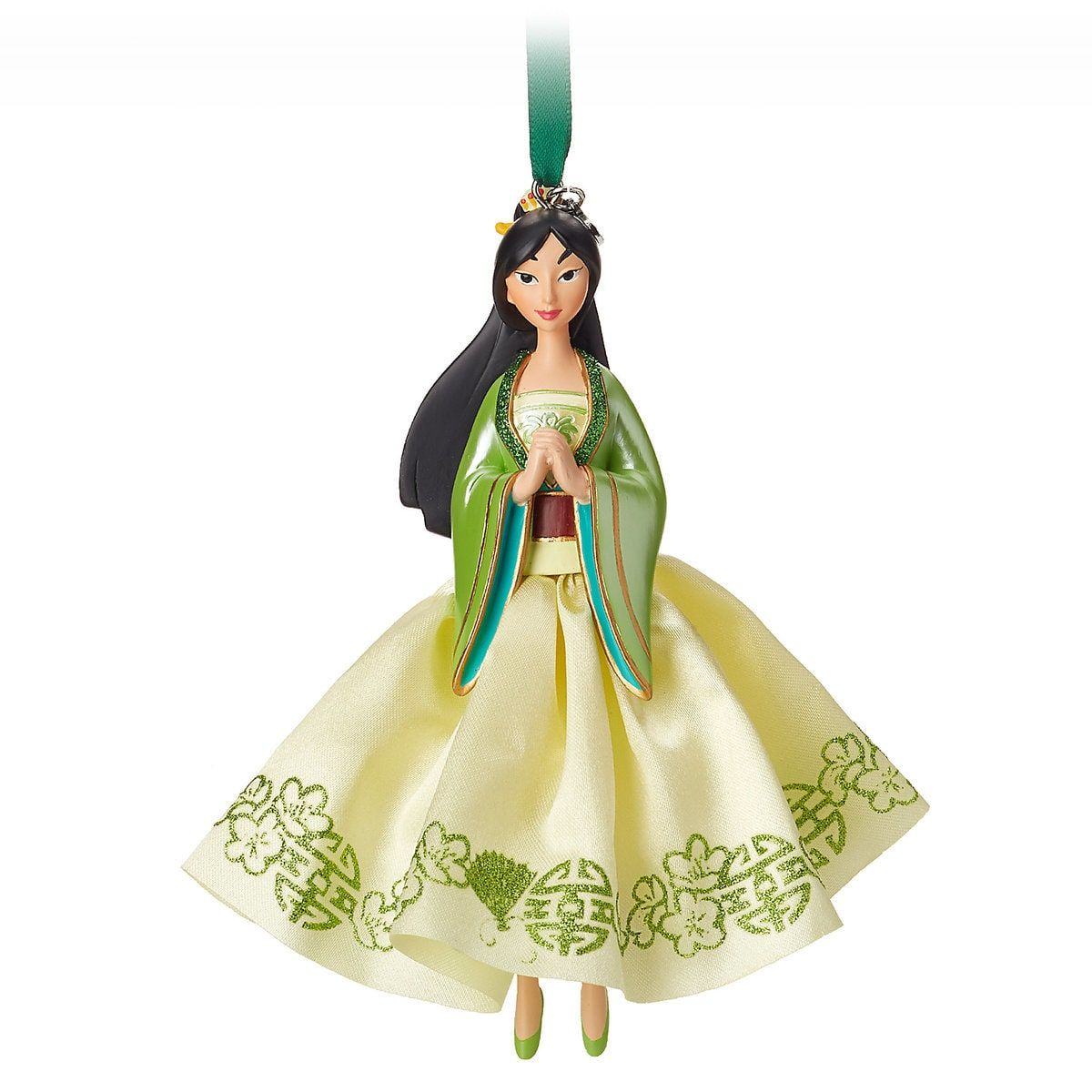 Snoopy Christmas Tree Topper: Product Image Of Mulan Sketchbook Ornament # 1