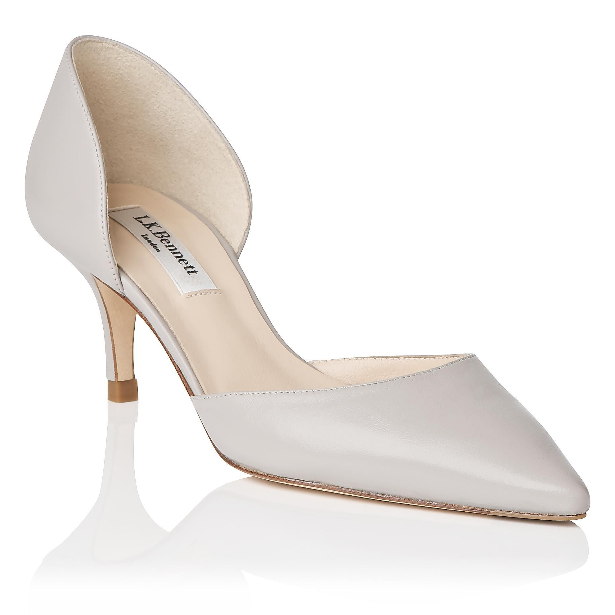Florine Grey Courts | Shoes | Collections | L.K.Bennett, London