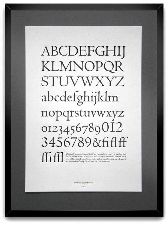 Letterpress typeface. Oh the beauty.