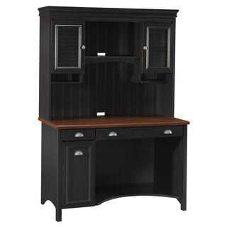 http://ak1.ostkcdn.com/images/products/8935629/Bush-Furniture-Stanford-Antique-Black-with-Hansen-Cherry-Accent-Computer-Desk-and-Hutch-P16149788.jpg