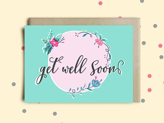 Printable get well soon greeting cardget well card for bossillness printable get well soon greeting cardget well card for bossillness recovery cardget well gift basket cardpet loss sympathy unique card m4hsunfo