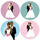 Bride Groom Cake Toppers Wedding Cake Stock Photos, Images, & Pictures - 54 Images