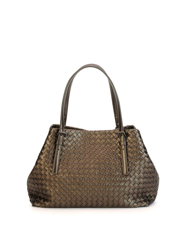 Bottega Veneta Medium A-Shaped Tote Bag Bronze  bagsforsale ... cfbba3a3a3d9f