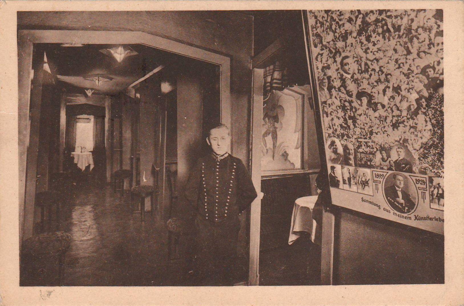 Unknown architect - Cafe Martini, Hamburg, 1929