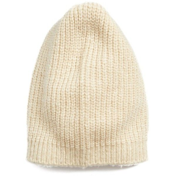 f7170fd2c41 Women s Halogen Ribbed Beanie ( 25) ❤ liked on Polyvore featuring  accessories