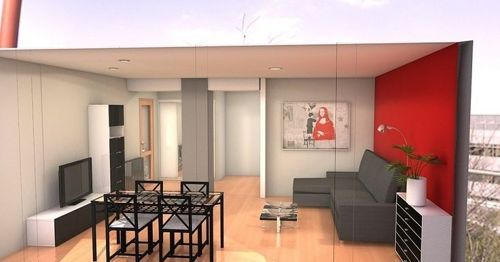 Diseños Sala Comedor Pequeños : Decoraci n en espacios sala comedor decoraciones para of