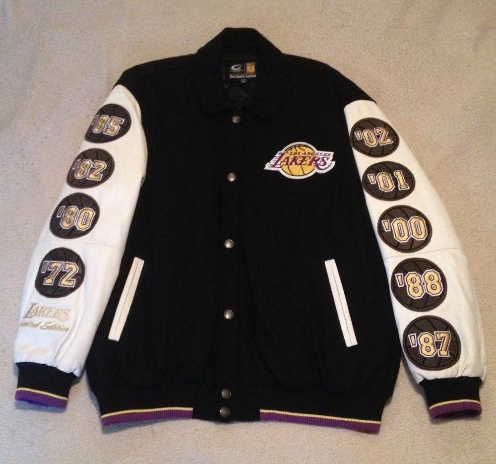 Vintage G Iii Los Angeles Lakers Nba Finals Leather Jacket Nwot Xxl Kobe Lonzo Giii Losangeleslakers Jackets Leather Jacket Letterman Jacket