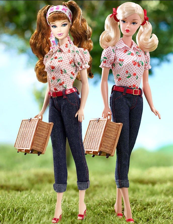 Cherry Pie Picnic Doll Barbie Vintage Willows Wisconsin Series