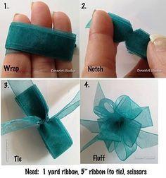 Como fazer laços perfeitos