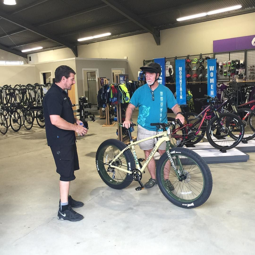 Mitch Helping A Guest In Our New Pb Store Bicyclewarehouse Fun