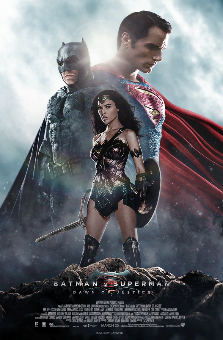Posters Batman Vs Superman