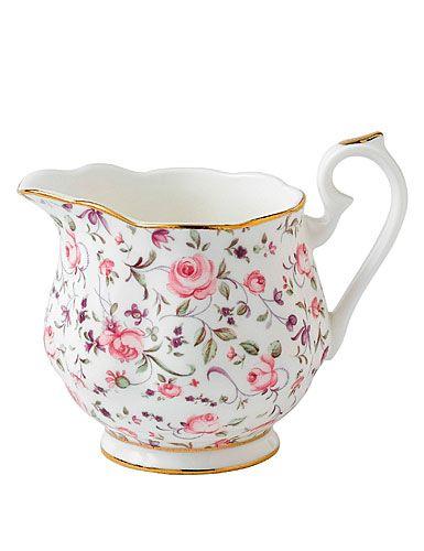 Royal Albert New Country Roses Rose Confetti Vintage Formal Creamer