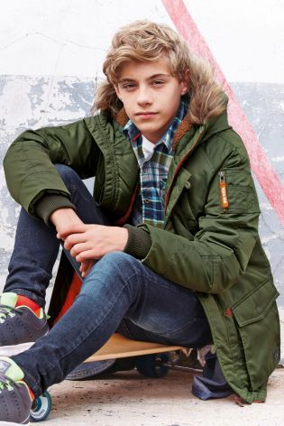 Buy Parka Jacket (3-16yrs) from the Next UK online shop | boys ...